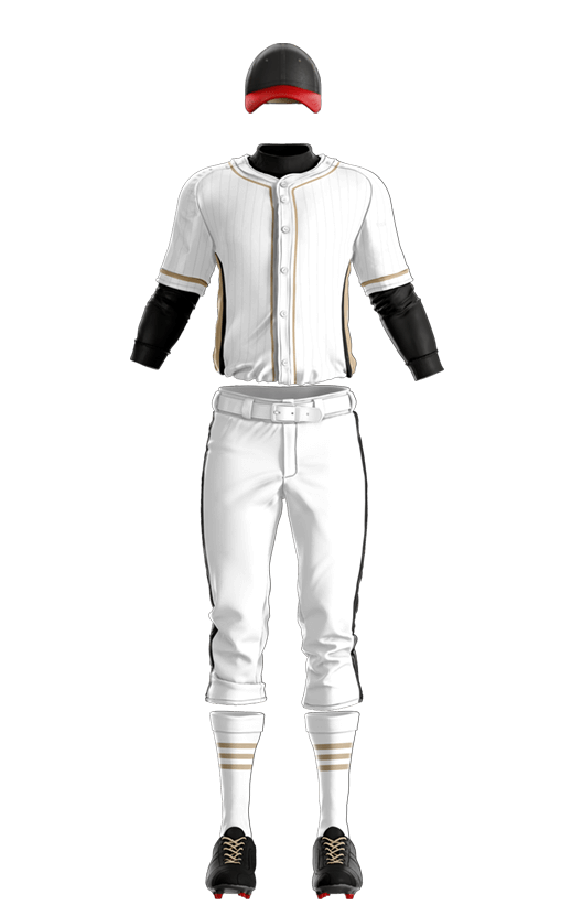 윌슨 상의 (골드,화이트) 야구복 단체티