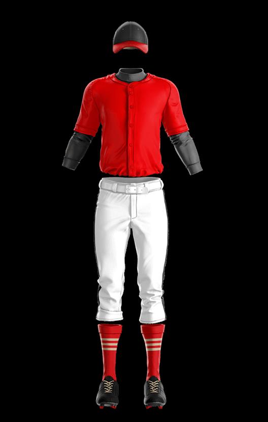나이키 풀버튼 메쉬 상의 야구복 단체티
