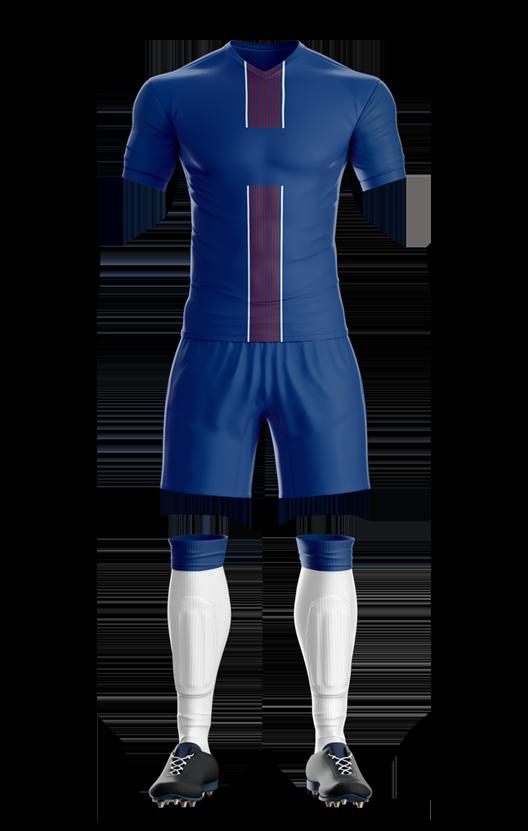 파리 생제르망 홈 축구복 단체티