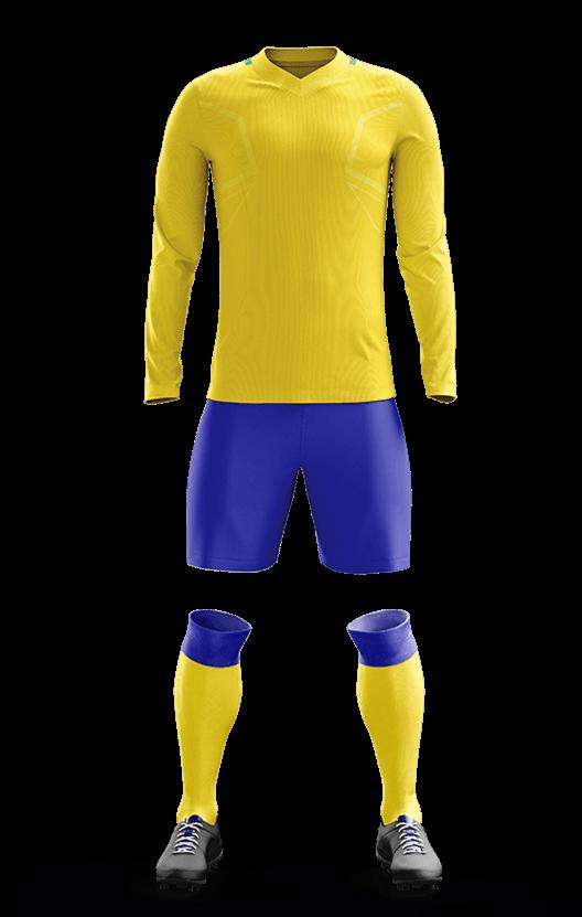 브라질 홈 축구복 단체티