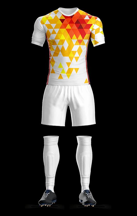 스페인 국가대표 어웨이 축구복 단체티