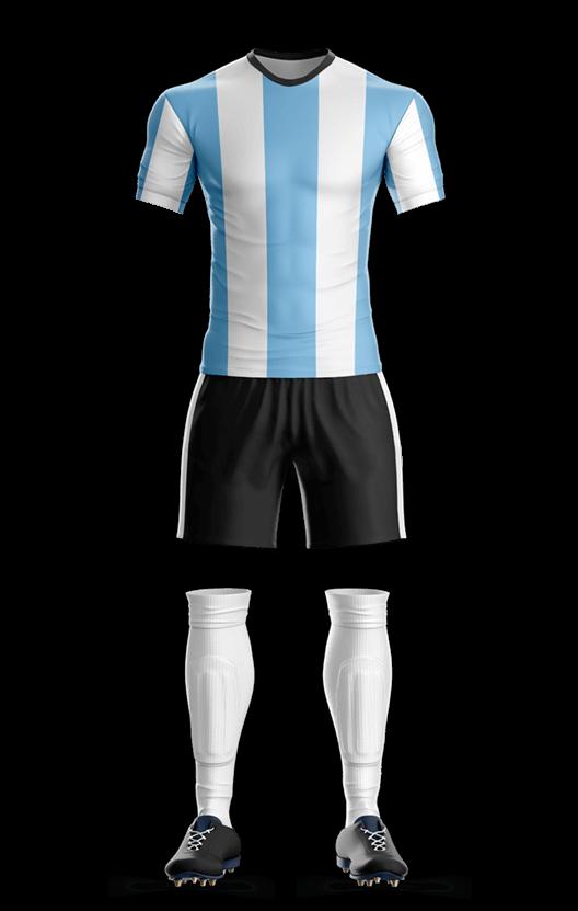 아르헨티나 국가대표 축구복 단체티