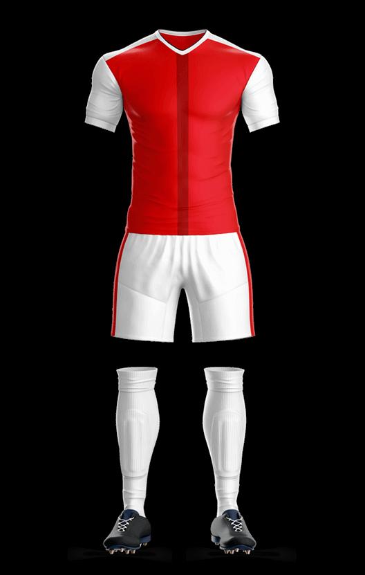 아스날 홈 축구복 단체티
