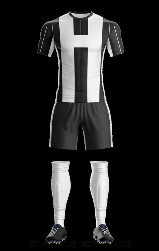 유벤투스 홈 축구복 단체티