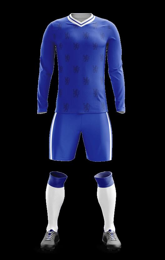 첼시 홈 축구복 단체티