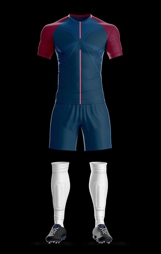 포스 파리 생제르망 홈 축구복 단체티