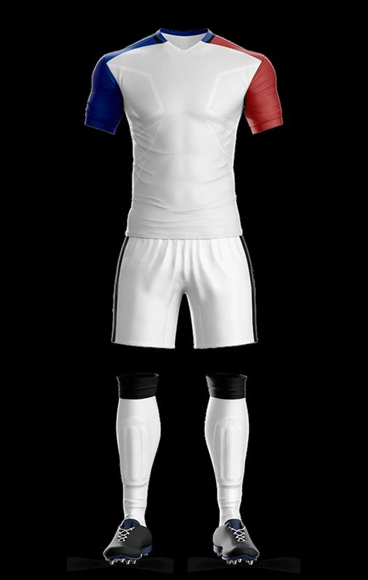 프랑스 어웨이 축구복 단체티