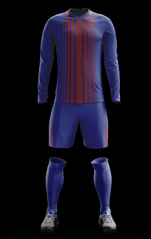 포스 바르셀로나 홈형 축구복 단체티