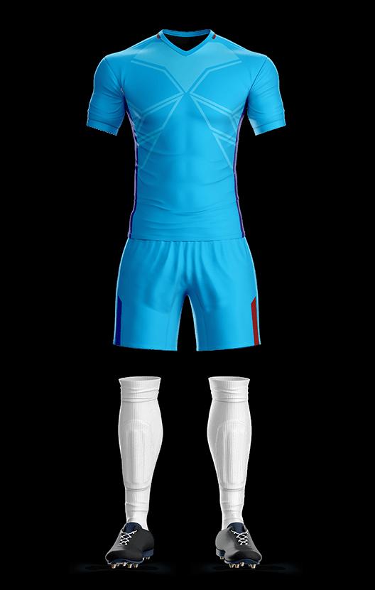 포스 바르셀로나 어웨이형 축구복 단체티