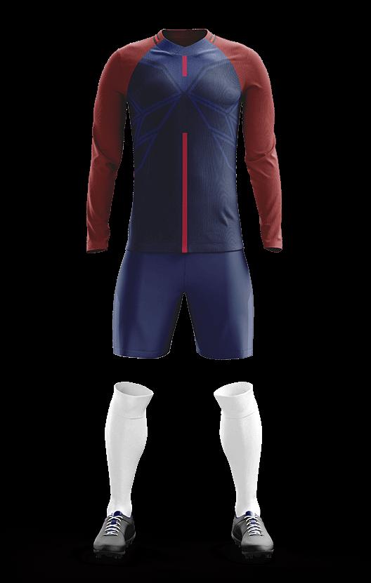 포스 파리 생제르망 홈형 축구복 단체티