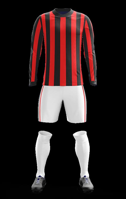 포스 AC밀란 홈형 축구복 단체티