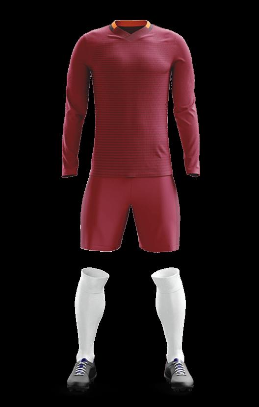 AS 로마 홈 축구복 단체티
