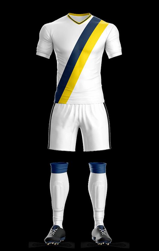 LA 갤럭시 홈 축구복 단체티