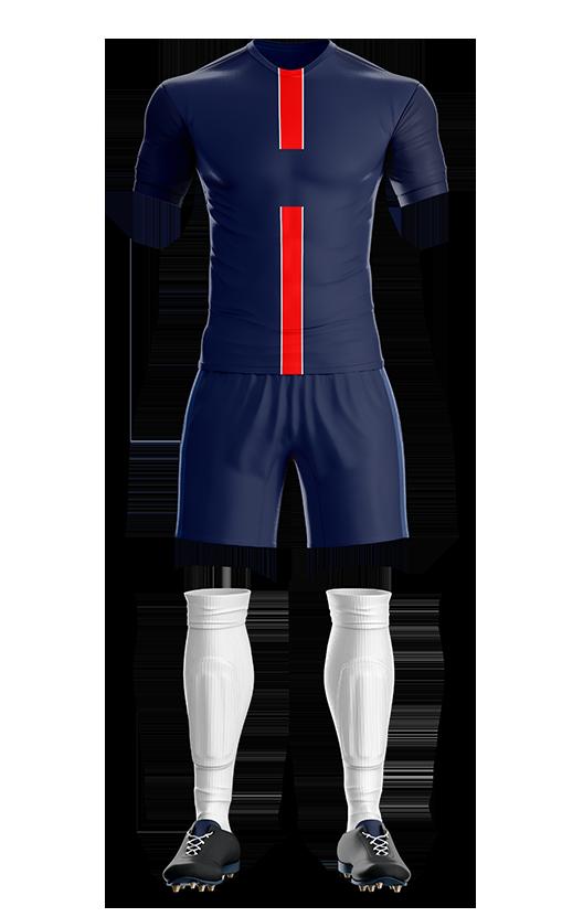 유투 파리 생제르망 홈형 축구복 단체티