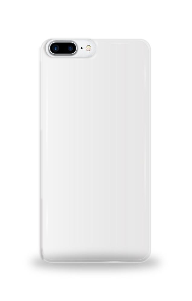 애플 iPhone 8 plus 투명 하드 케이스 단체티