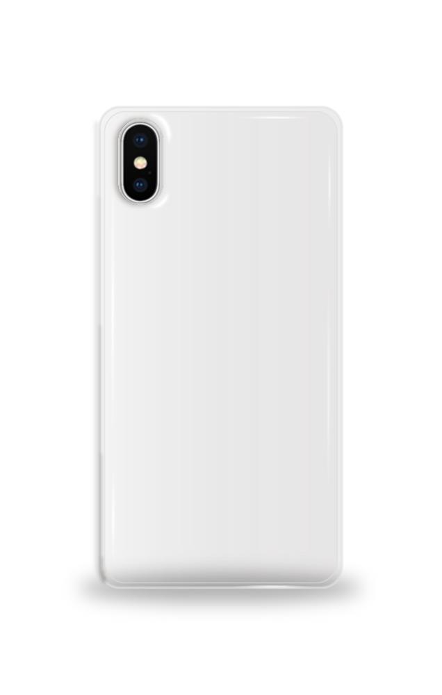 애플 iPhone X 투명 하드 케이스 단체티
