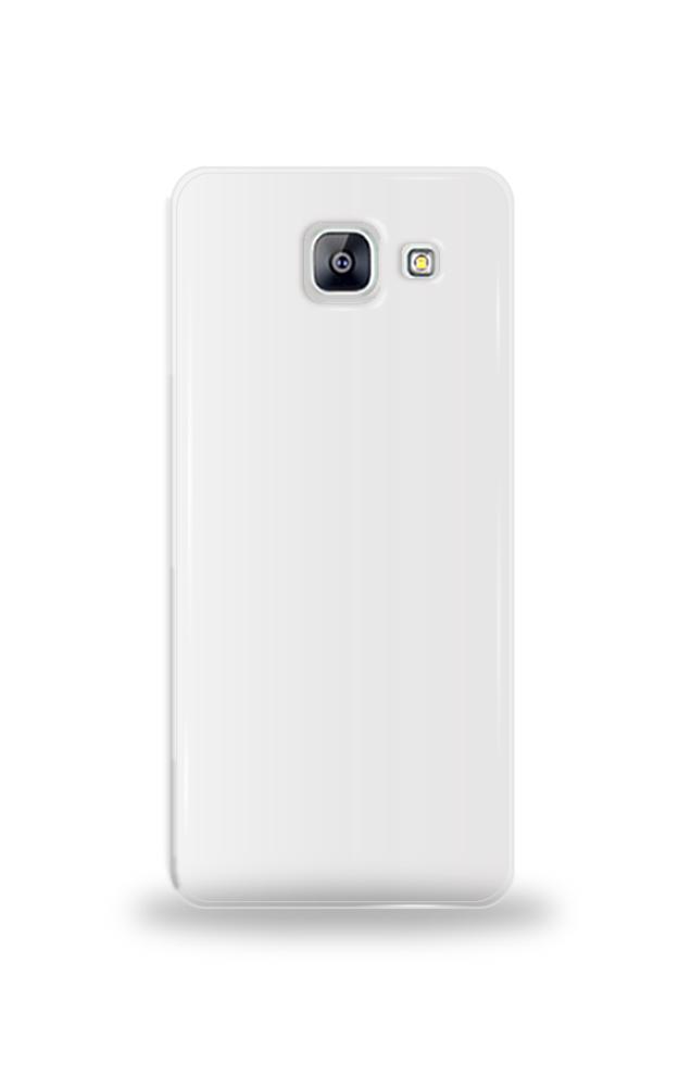 삼성 A8(2016) 투명 하드 케이스 단체티