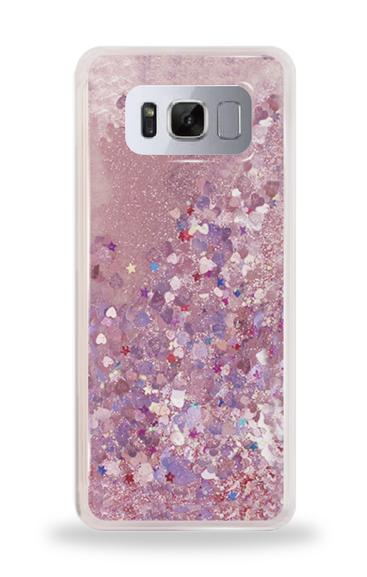 삼성 갤럭시S8 플러스 글리터 젤리 케이스 단체티