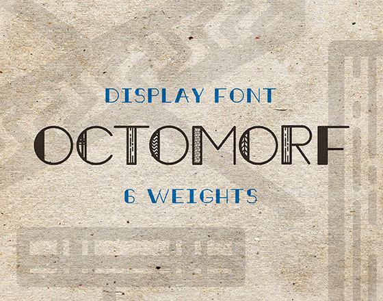 Octomorf Font Download